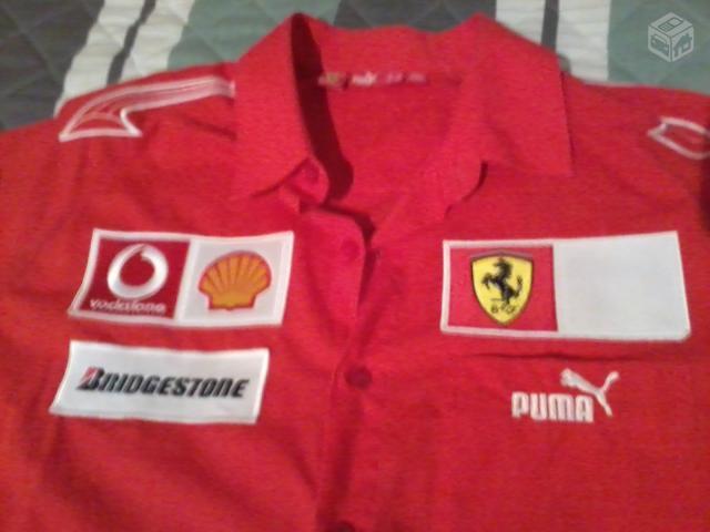 9a873e078a camisa ferrari formula 1 vermelha   OFERTAS
