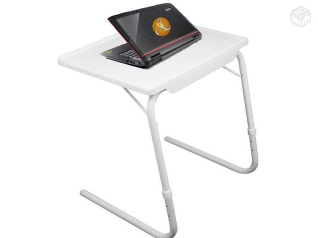 Mesa notebook multiuso portatil dobravel regulavel - Mesa para portatil ikea ...