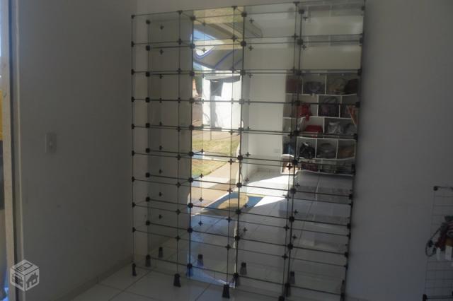 Estante De Vidro Temperado : Prateleira de vidro temperado prateleira espelhada ofertas