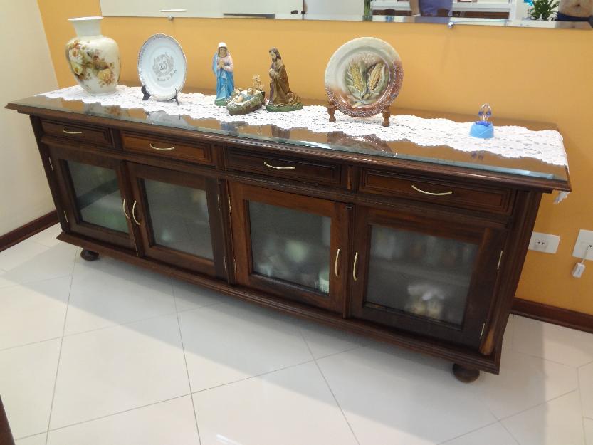 Armario Mdf Cozinha ~ armario buffet em imbuia rack branco em mdf e aparador em