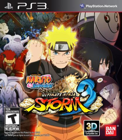 Naruto Ultimate Ninja Storm 3-ps3