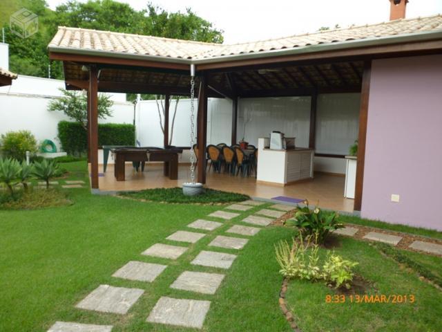 Casa 4 suites 1 quarto hidro piscina linda ofertas vazlon brasil - Piscinas en alto ...