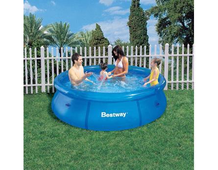 Piscina bestway fast set lona litros vazlon brasil for Lona piscina bestway