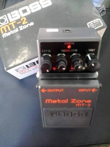 Pedal Metal Zone Mt-2 na Musical Street