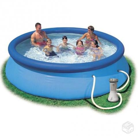 Piscina Easy Set Intex l completa