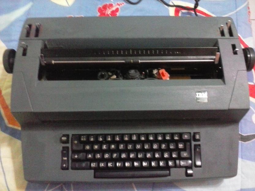 Maquina de Escrever Eletrica Ibm Maquina de Escrever Elétrica