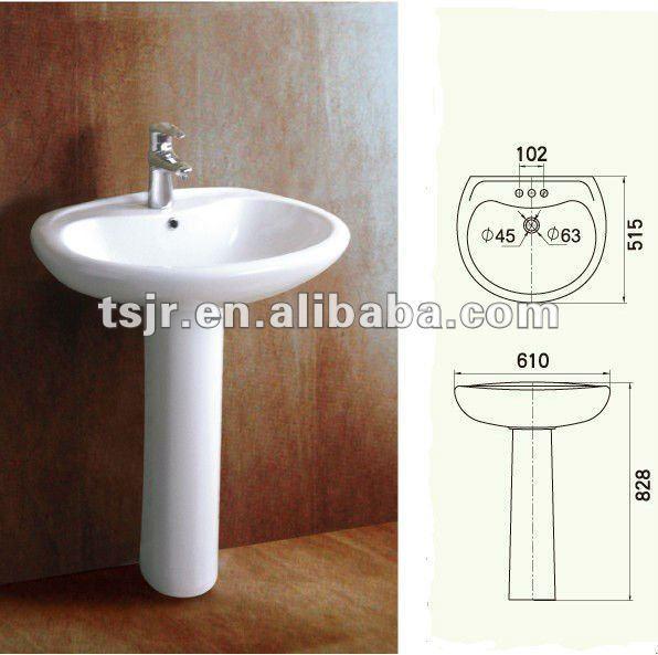 pia completa para banheiro e tanque de louca imperdivel  Vazlon Brasil -> Altura Para Pia De Banheiro