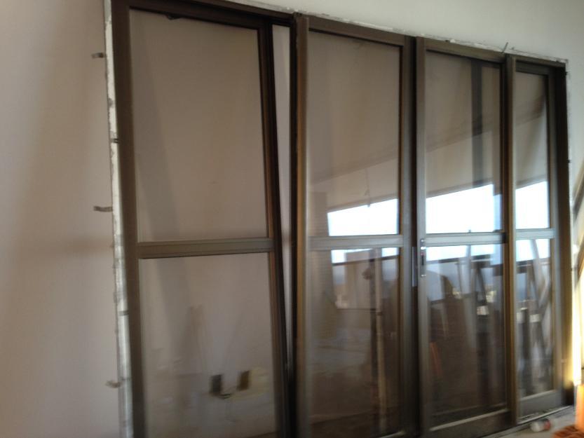 Porta De Aluminio Bronze 4 Folhas Vazlon Brasil