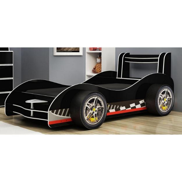Cama carro hotwelss nova vazlon brasil - Cama en forma de auto ...