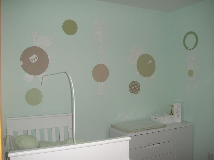 bichinhos em mdf para decoracao de quarto de bebe  Vazlon Brasil