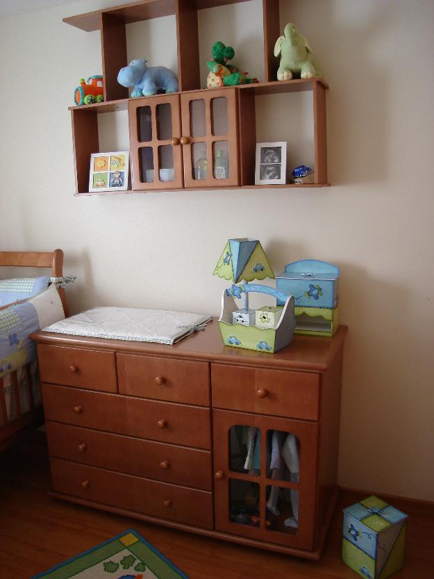 quarto de bebe completo berco comoda e cama da baba  ~ Cores Para Quarto De Madeira