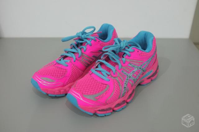 0bfda7fe8f2 tenis asics nimbus feminino rosa tamanho 7   OFERTAS