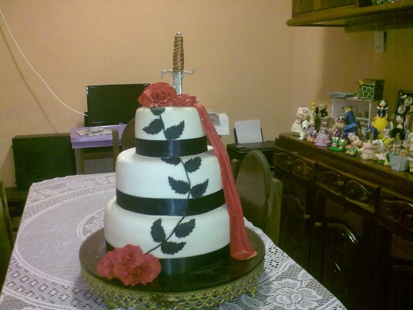 Bolos artsticos biscuit e bolos artsticos biscuit e bolos for O jardineiro e jesus e as arveres somos nozes