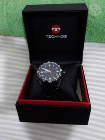 b62ceb7f716 relogio technos g digital pulseira de borracha azul   OFERTAS ...