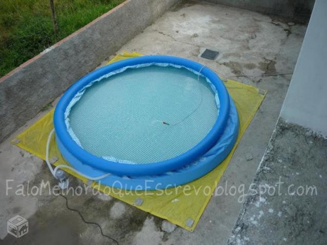Piscina mil litros semi nova ofertas vazlon brasil for Piscina 7 mil litros