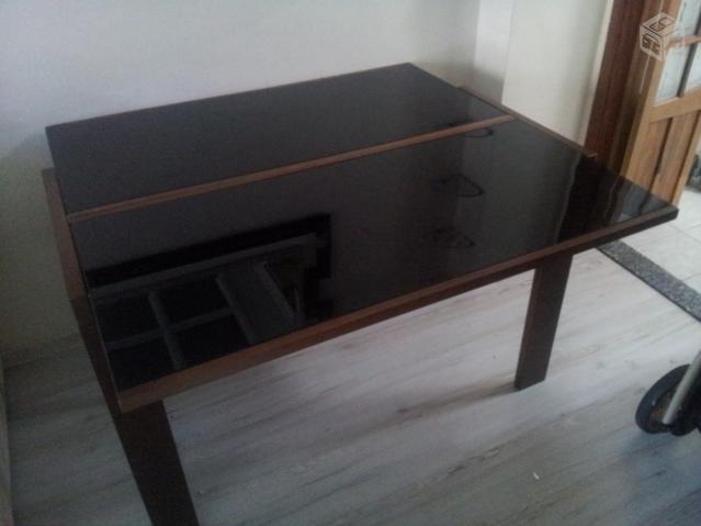 Artesanato Luminaria ~ aparador mesa elastica Vazlon Brasil