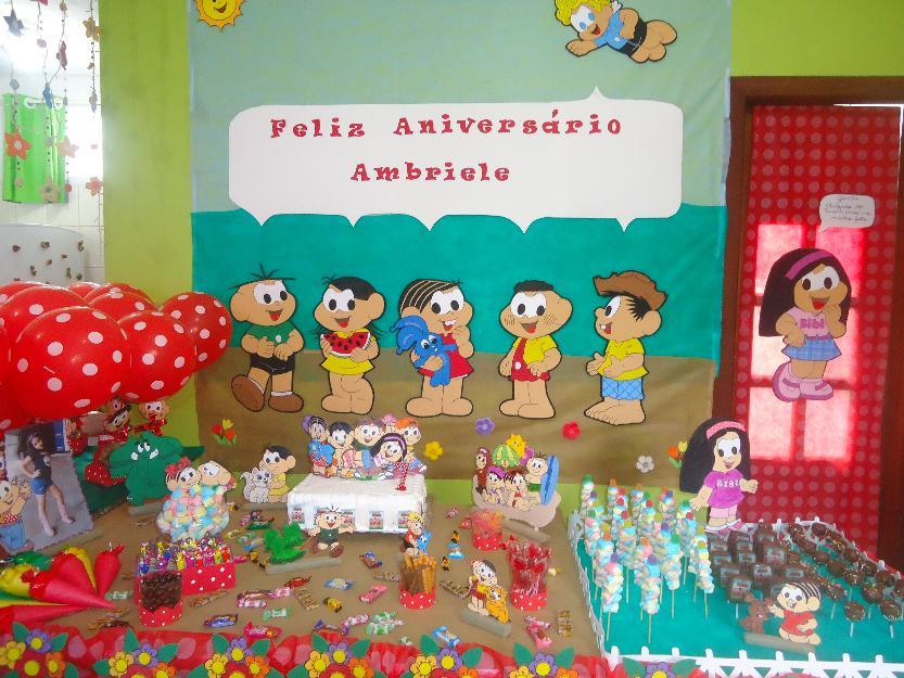 decoracao para festa infantil em eva turma da monica  Vazlon Brasil -> Decoracao De Banheiro Infantil Em Eva