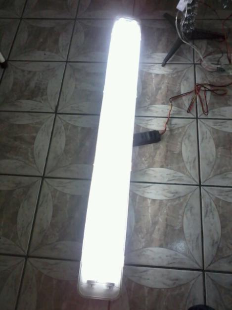 Luminaria fluorescente - Luminaria fluorescente estanca ...