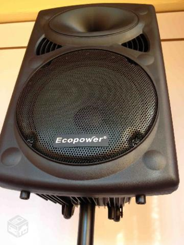 Caixa amplificada eco power  nova