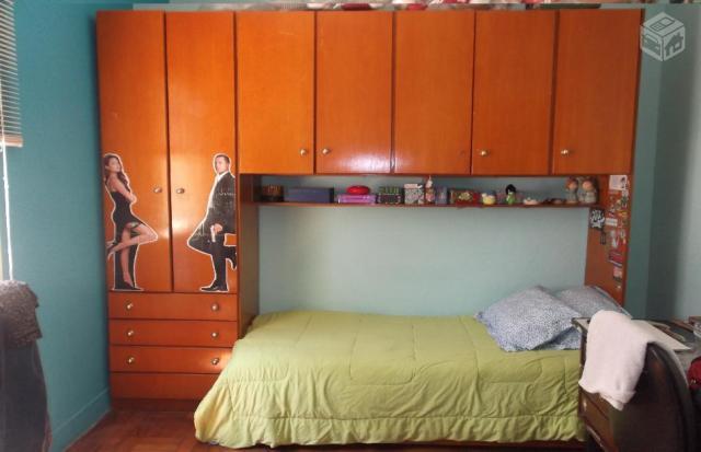 guarda roupa com cama de solteiro embutida Vazlon Brasil ~ Conjunto Quarto Infanto Juvenil