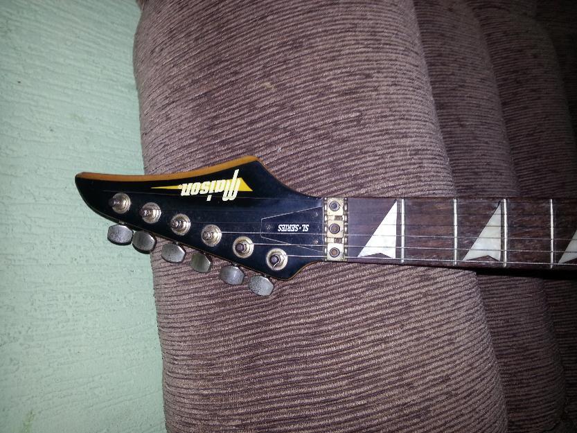 vendo guitarra maison: