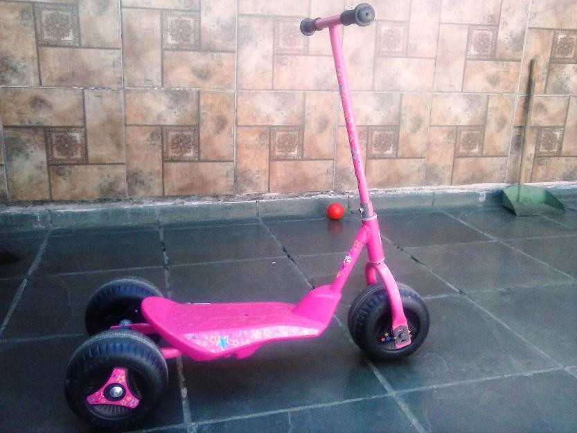 Patinete Barbie 3 rodas