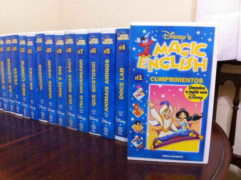 Coleção Disney Magic English VHS