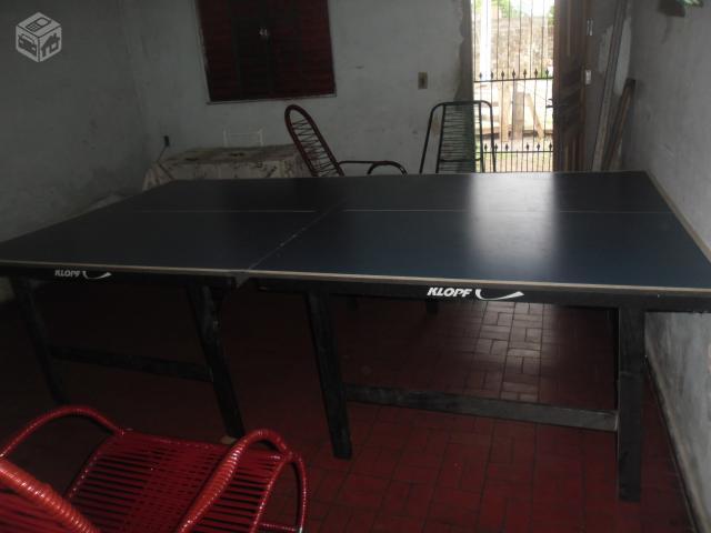 Mesa de ping pong klopf mm ofertas vazlon brasil for Mesa de ping pong usada
