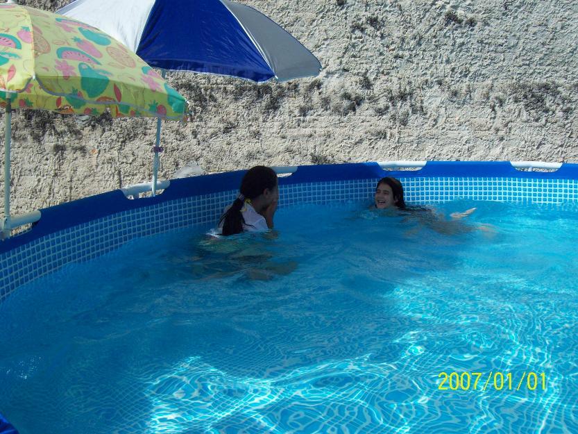 piscina de litros de plastico redonda c filtro vazlon brasil