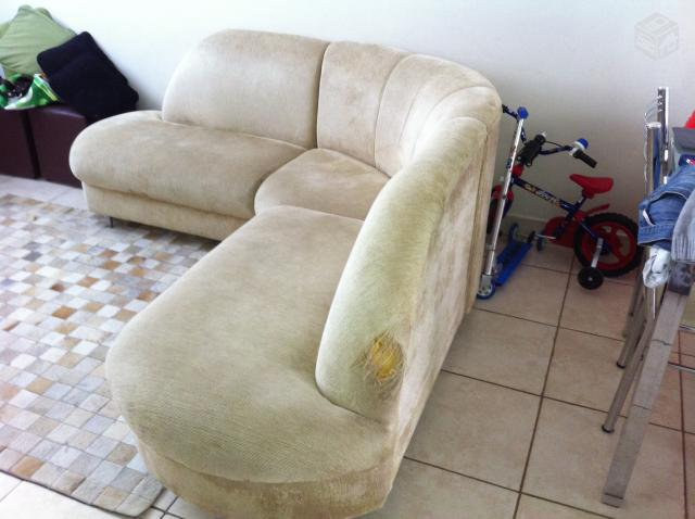 Sofa de canto cinco lugares tambem pode ser usado separado for Sofa 5 lugares canto