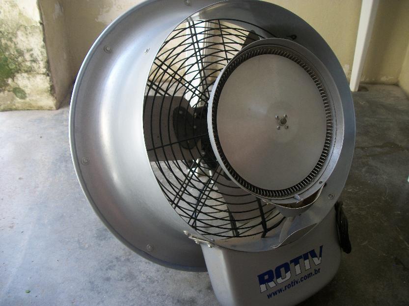 Ventilador climatizador nebulizador aspersao de agua - Climatizador de agua ...