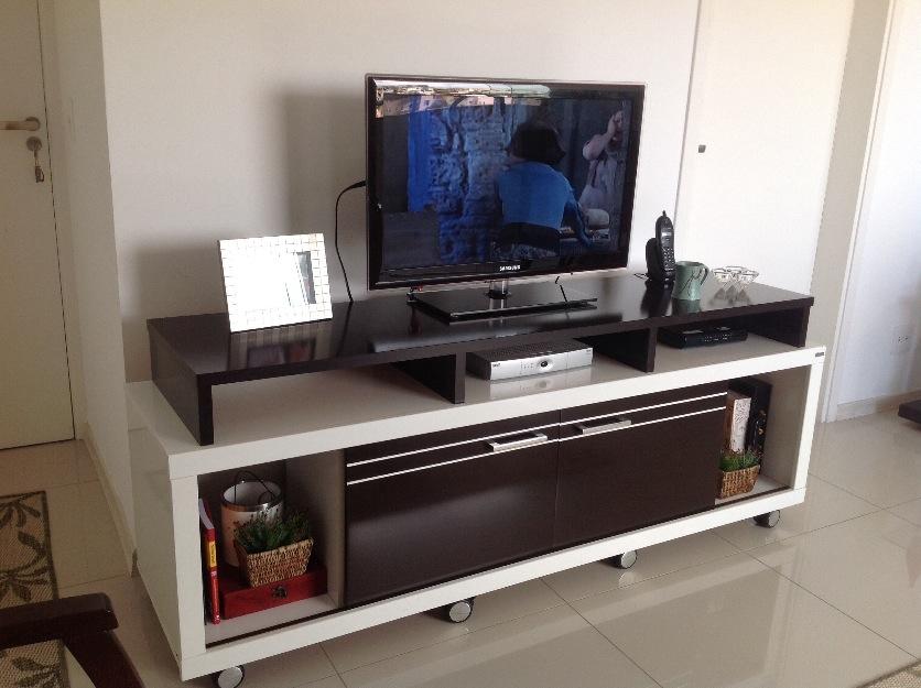 Rack Para Sala De Tv Branco ~ rack para sala tabaco com branco rack para sala em mdf branco e tabaco