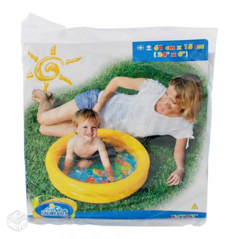 Piscina familiar color whirl litros intex ofertas for Carrefour piscinas intex