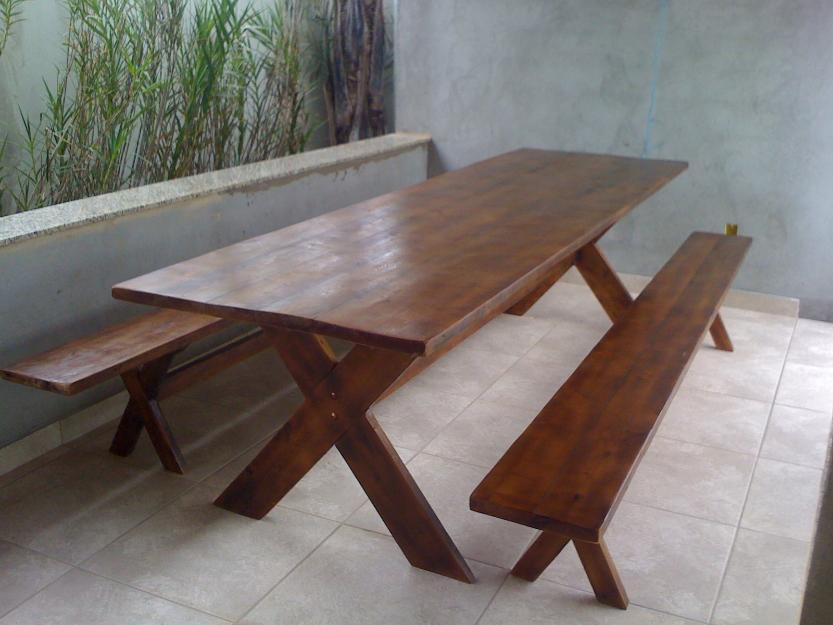 banco de jardim mesa:Mesa para churrasco (aparadores, bancos de jardim etc.)