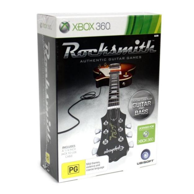how to connect rocksmith real tone cable pc