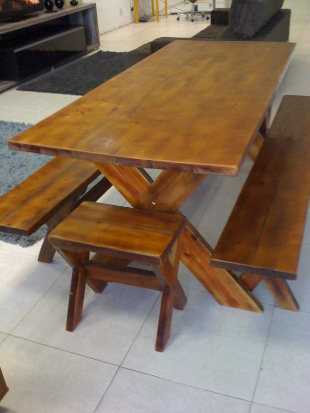 mesa jardim curitiba:mesas para area externa fixadas no chao