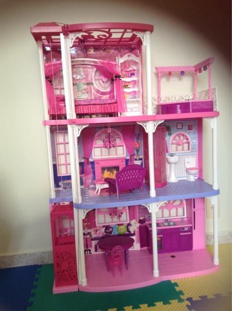 Casa de ferias da barbie 2013 com boneca y4118 mattel casa - Casa de barbie ...