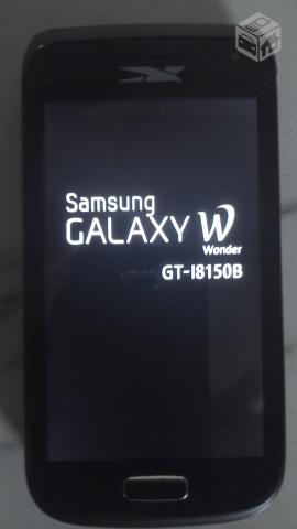 Galaxy W Android ghz, tela mp, Wifi