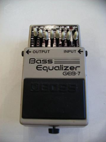 Pedal Bass Boss Equalizer GEB7