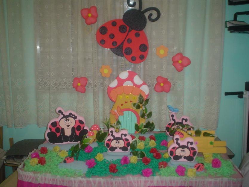 enfeites para festa infantil jardim encantado:encantado festa joaninha jardim encantado festa nova vão os enfeites