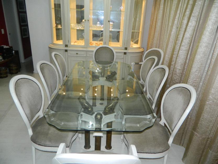 Conjunto De Sala De Jantar Luis Xv ~ sala de jantar luis xv c cadeiras mesa em vidro e linda sala de jantar