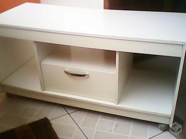 rack branco para sala ou quarto Vazlon Brasil ~ Rack Quarto Branco