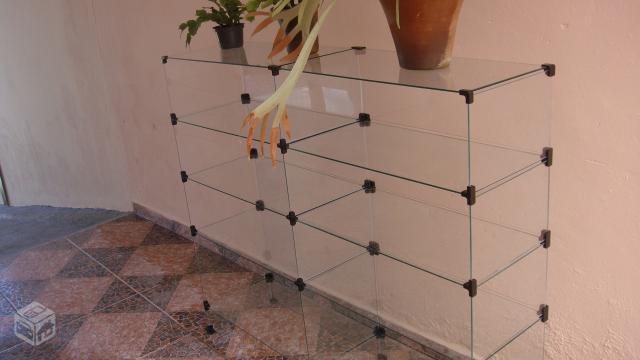 Armario Expositor De Vidro Com Chave : Armario de vidro expositor para loja painel mdf ofertas