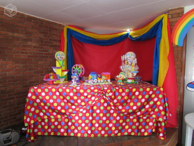 painel patati e patata em tnt pintado a mao r [ OFERTAS ] Vazlon Brasil -> Decoração De Aniversario Infantil Com Tnt