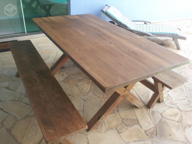 Aparador Mesa Retratil ~ bancos para jardim que viram mesa [ OFERTAS ] Vazlon Brasil