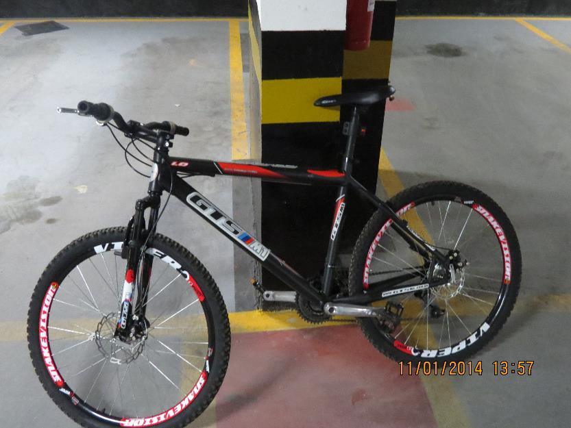Bicicleta mtb gts m1 advanced
