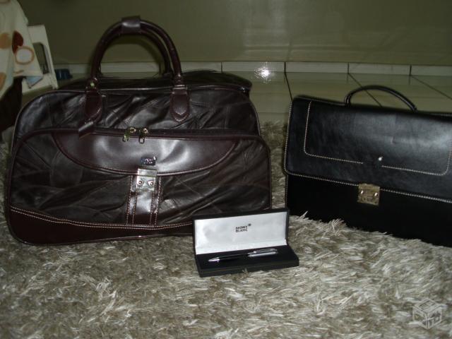 Bolsa De Couro Novo Hamburgo : Pasta briefcase executiva mont blanc couro preto ofertas