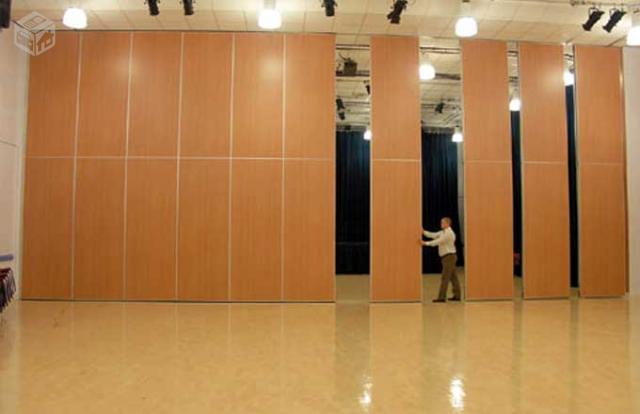 Divisorias retrateis articuladas moveis paredess vazlon - Paredes divisorias ...