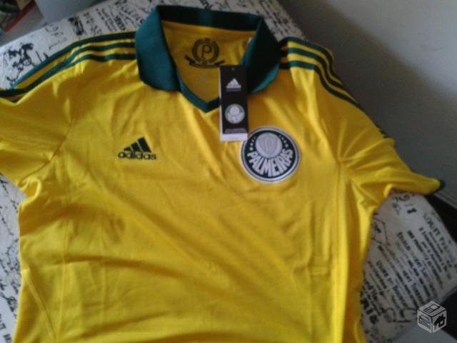 camisa do palmeiras amarela uniforme 3 patria amada   OFERTAS ... 24d3787ab61e6