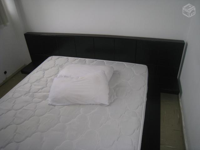 Cama japonesa biofuton queen size com linda base em - Base cama japonesa ...